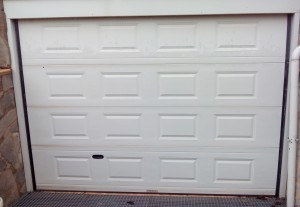 Puerta garaje cerrada