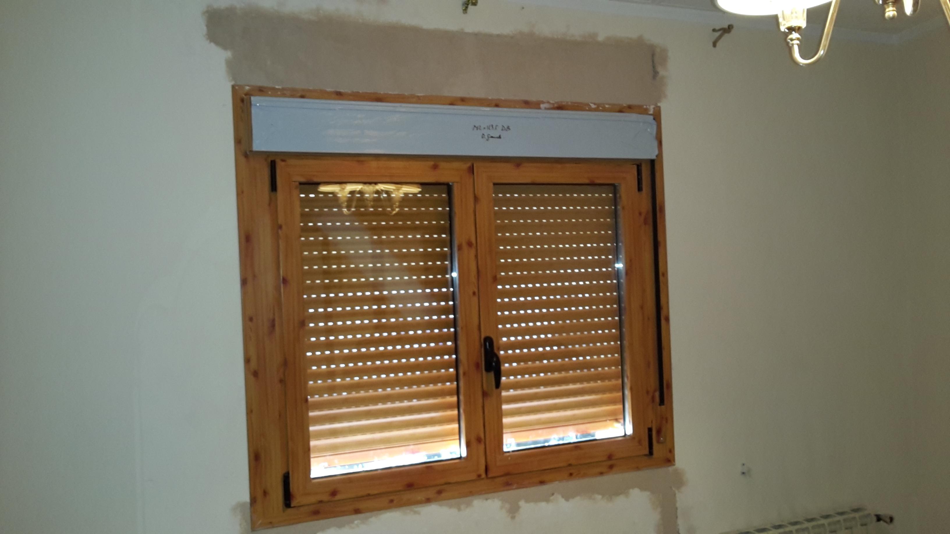 Ventanas de aluminio archivos montajes de aluminio dg for Ventanas pvc color madera