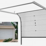 Puerta seccional garaje abierta