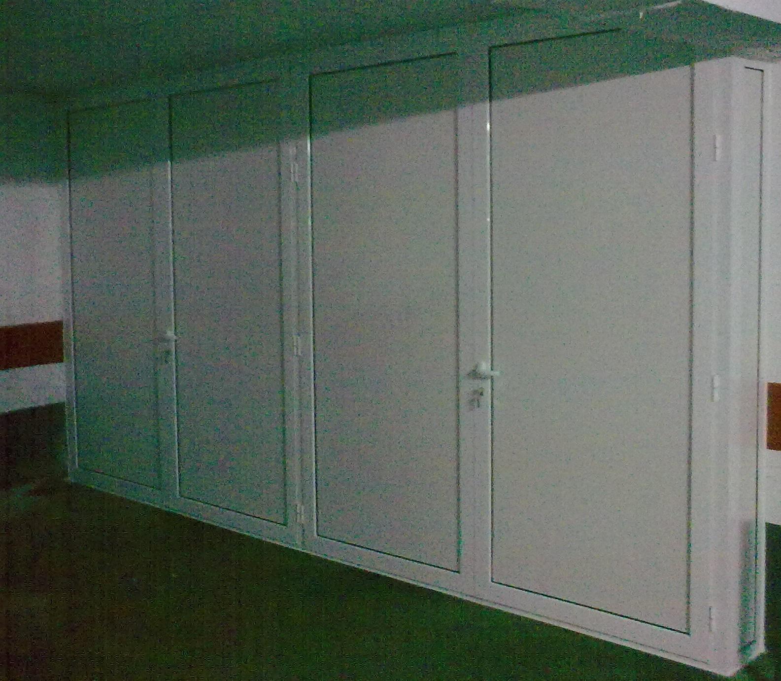 Armario De Aluminio En Color Blanco Para Un Cliente ~ Armarios De Aluminio Para Exterior