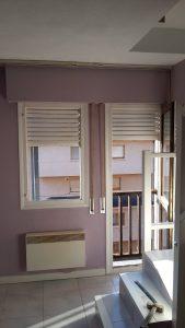 balcón madera