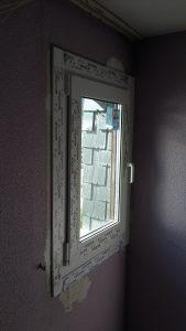 ventana media PVC